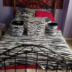 Zebra Print Room Decor